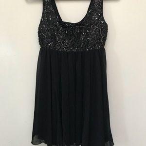 H&M sequin babydoll dress